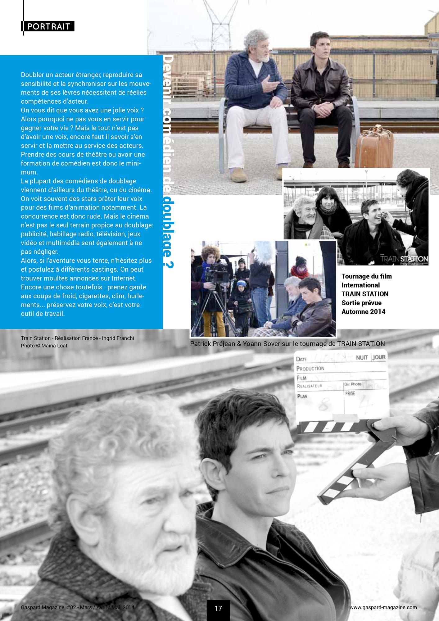 Gaspard Magazine #2 2014